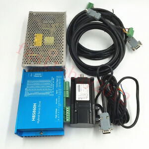 2.2NM -12NM DSP Closed Loop Stepper Drive+Motor+Power DC36V AC60V Nema34/Nema23