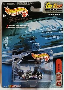 Mark Martin #6 Valvoline Hot Wheels Deluxe GO KART Series 1/4 w/Collector Card