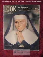 RARE LOOK September 18 1945 INGRID BERGMAN ALFRED HITCHCOCK JOSE ITURBI