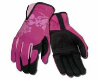 Ansell 97-981 Ladies Women's Premium Pink Reinforced Palm Gardening Work Gloves
