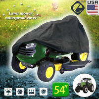 """54"""" Riding Lawn Mower Tractor Cover Garden Heavy Duty Push Mower UV Protector"""