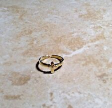 Darling Diamonds childs solid gold ring 14k new