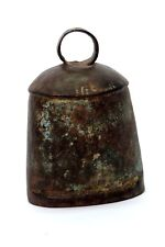 Old Collectible Rustic Vintage Indian Pet Animal Iron Big Bell. i9-155 Us