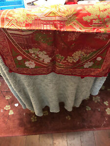 Vintage Red Chinese pillow cover- Pair