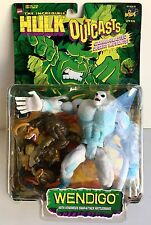 The Incredible Hulk Wendigo Outcasts Action Figure Toy Biz 1997