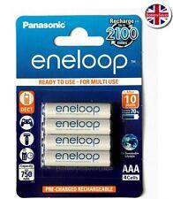 Panasonic eneloop AAA 5th Gen (4 pack) NiMH Rechargeable Batteries - BK-4MCC-4BE
