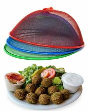 Food Cover Mesh Dome Food Cover For Outdoor Food Plate Or Plant Set Of 3 Colors
