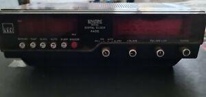 Binatone Royal Digital Clock Radio vintage retro alarm Wood Finish LED Working