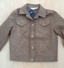 BNWT HOLLISTER faux Suede Jacket size M Medium
