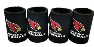 NFL Arizona Cardinals Kolder Holder Cooler Koozies, Qty 4