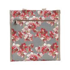 Signare Einkaufstasche Blume Orchidee Shopper Gobelin Einkaufsbeutel Beutel