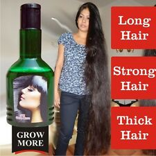 Double Power Grow More Unisex Hair Growth Herbal Oil for Thick & Strong Hair.