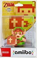 8-Bit Link Amiibo Zelda Series Breath of the Wild Nintendo Switch Wii U 3DS NEW