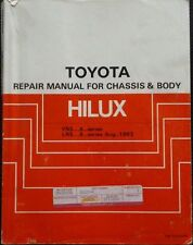 Toyota Books and Manuals