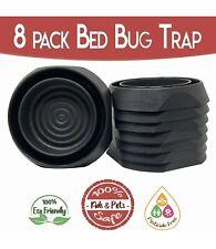 Trapbedbugs Bed Bug Interceptors Bed Bug Traps 8 Pack Black. Bed Bug 4g8pB