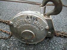 Coffing Porta-Hoist 5 Ton Hoist; Hand Chain w/ 17 ft Pull Chain