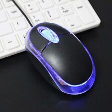 3D 800 DPI LED USB 2 Mini Optical Mouse for Laptop Notebook computer PC