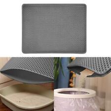 Double Layer Cat Litter Mat Waterproof Kitten Pad Pet Toilet Clean Rug Honeycomb