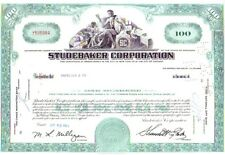 Broker Owned Stock Certificate: Andresen & Co,  payee; Studebaker Corp, issuer