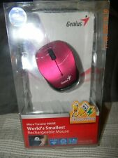 GENIUS Micro Traveler 9000R World smallest rechargeable mouse