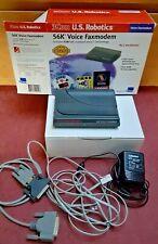 US Robotics 56k Voice Fax Modem 5663