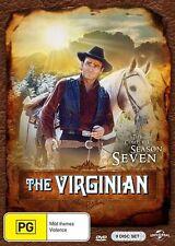 The Virginian : Season 7 (DVD, 2016, 9-Disc Set) - REGION 4 - SEALED