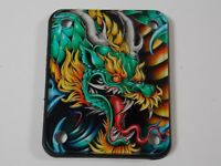 "Neck Plate  - 2124 Customs New Crylux HD ""DRAGON"""