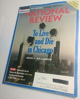 National Review Magazine 2/25/2013 To Live & Die in Chicago Illinois [Near Mint]