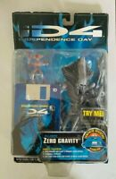 VINTAGE 1996 Independence Day ID4 ALIEN Zero Gravity Action Figure Sealed