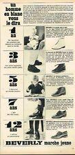 K- Publicité Advertising 1966 Les Chaussures pour enfants Beverly
