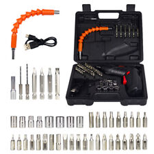 48 in 1 Rechargeable Wireless Cordless Electric Screwdriver Drill Set Power Tool