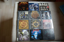 CD Sammlung Rage (12 CD´s)