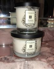 NWT Olivia Blake London Pine Needle & Cedarwood Scented Candles 2pc Gift Set