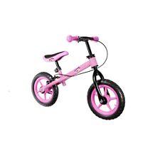 20b36b3a5 Bicicleta sin Pedales para Ninos hasta 27kg Ajustable Sillin Volante Rosa