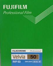 FUJIFILM Reversal Film Fujichrome CUT VELVIA50 NP4x5 20 packs / with TRACKING