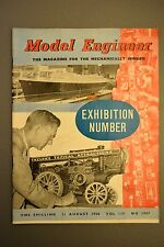 R&L Mag: Model Engineer 21 August 1958 LBSCR Class Tank Eng/Thread Grinding