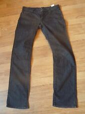 mens grey ARMANI jeans - size 33/35 great condition !