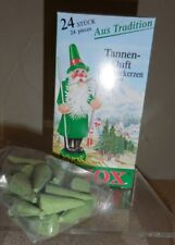 KNOX CHRISTMAS INCENSE CONES FROM GERMANY BOX OF 24 PCS...PINE SCENT