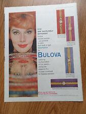 1959 Bulova Watch Ad Shows 4 Models Lady Rhapsody