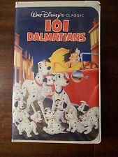 101 Dalmations Walt Disney Classic VHS video cassett