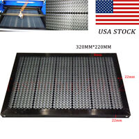 """12.6"""" x 8.7"""" Honeycomb Work Bed Table 320x220mm for 40W CO2 Laser Engraver ,US"""