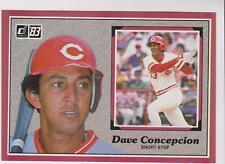 1983 Donruss Action All-Stars #47 Dave Concepcion card, Cincinnati Reds star