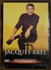 DVD : JACQUES BREL MASTER SERIE ( PAL )
