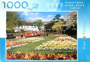 """""""Stratford-Upon-Avon-England"""" Jigsaw By- Kings-No:1981-Correct & Bagged In VGC!"""
