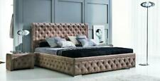 Chesterfield Bed Leather Bed Upholstered Bed Bed Box Bedroom Double Bed Beds