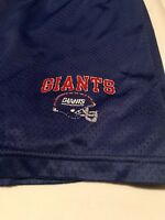 Vintage Rare Champion New York Giants Shorts Size XL (40-42) NFL Football Blue