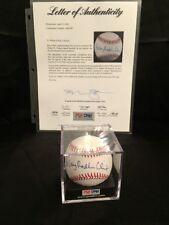 Hillary Rodham Clinton Signed Baseball PSA DNA Full LOA official ball