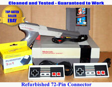 NES Console Bundle + Super Mario Bros/Duck Hunt + Zapper - BEST PINS -Guaranteed