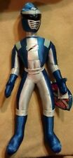 "New Disney Store BLUE Power Rangers Operation Overdrive 16"" Plush Toy Doll HTF"