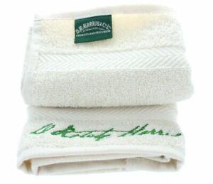 D R Harris Unbleached Luxury Shaving Face Cloth - Organic Egyptian Cotton